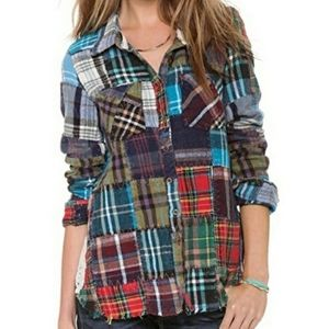 Rare Free People Lost In Plaid